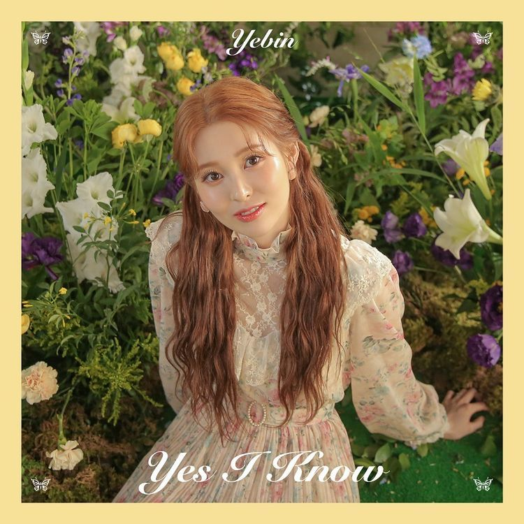 Teaser debut solo Yebin DIA