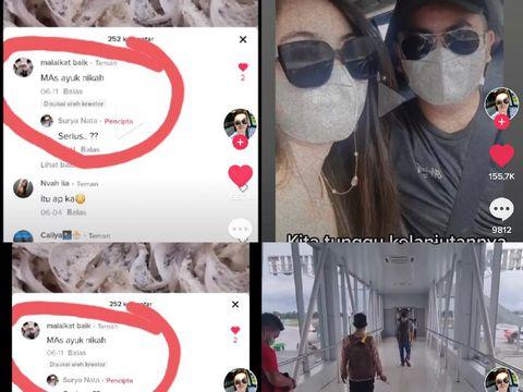 Viral kisah pasangan yang menikah berawal dari komentar di TikTok.