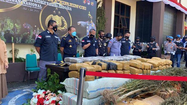 Bareskrim tangkap 4 pengedar ganja di Aceh (Dok istimewa)