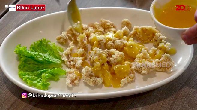 Bikin Laper! Ncess Nabati Cobain Ayam Saus Lemon yang Asam Segar