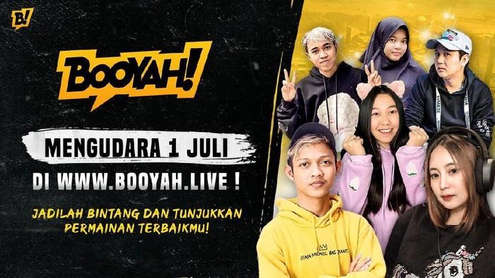 Booyah Live Hadir Sebagai Platform Live-Streaming Untuk Gamers