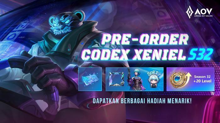 Dapatkan Hadiah Spesial dengan Pre-order Codex Arena of Valor