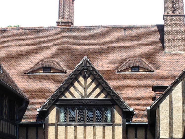 fotoinet kumpulan rumah yang memiliki wajah