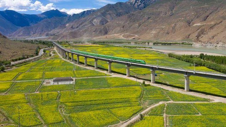Kereta peluru tibet