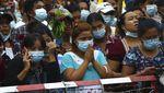 Ribuan Pedemo Antikudeta Myanmar Dibebaskan