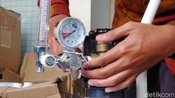 Dokter Paru: Proning Cuma Pertolongan Pertama, Tetap Butuh Tabung Oksigen