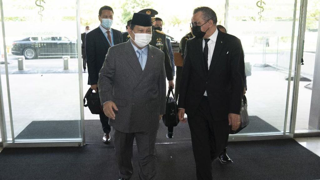 Temui Dirjen WHO, Prabowo Bahas Rencana Penguatan Keamanan Kesehatan