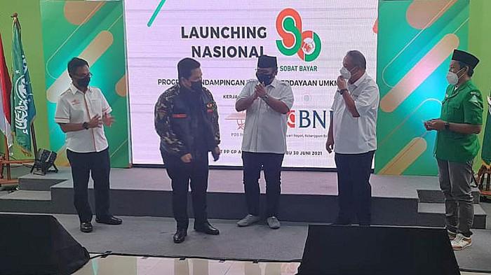 PT Pos Indonesia bekerjasama dengan Gerakan Pemuda Ansor (GP Ansor) berupaya meningkatkan kesejahteraan dan kewisausahaan.