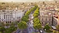 Foto: Jalanan Paling Tenar di Spanyol, La Rambla