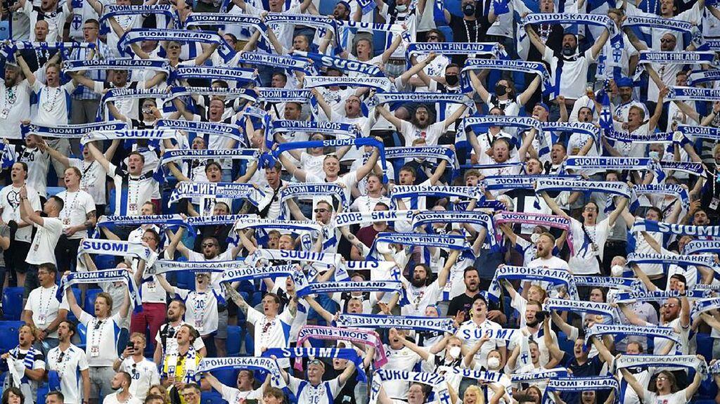 Piala Eropa 2020 Bikin Lonjakan Kasus Corona di Finlandia
