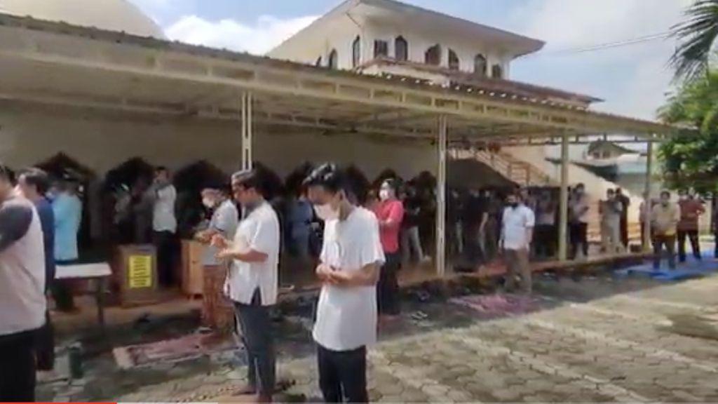 Masjid di Jaksel Masih Gelar Salat Jumat Jelang PPKM Darurat