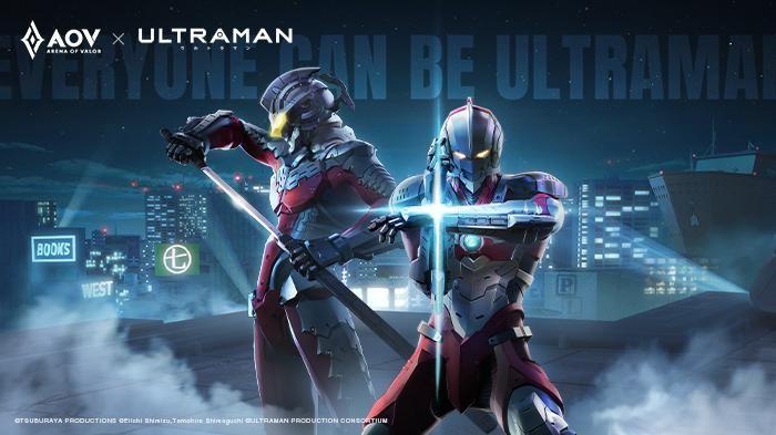 Ultraman X Arena of Valor, Dapatkan Skin Kolaborasi Seven & Ultraman