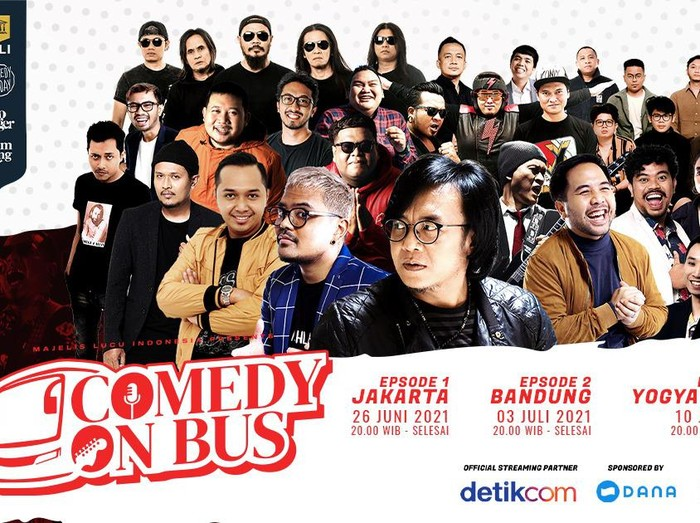 comedy on bus