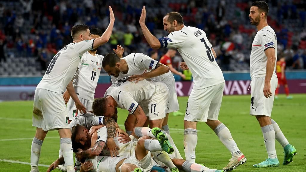 Rekor! Italia Sudah 36 Laga Tak Terkalahkan Secara Beruntun