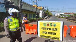 12 Jalan di Cianjur Disekat Saat PPKM Darurat