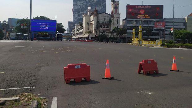 PPKM Darurat diterapkan, jalanan Ibu Kota sepi