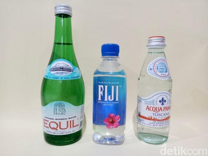 Review 3 Air Mineral 'Sultan' Mahal, Adakah Perbedaan Rasanya?