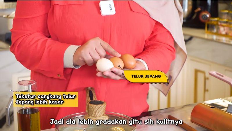 Tasyi Athasyia Bandingin Telur Mahal Vs Murah. Mulai dari Harga Rp 1.500 hingga Rp 7.500