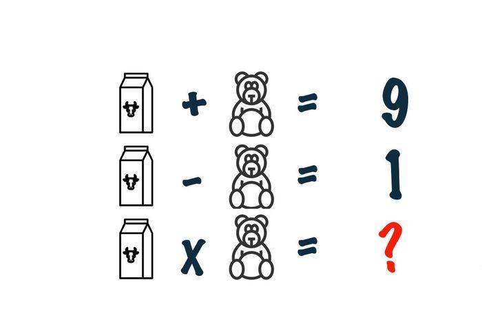 asah otak susu beruang
