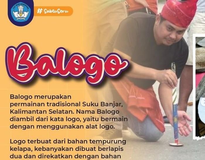 Balogo, Permainan Tradisional Unik dari Kalimantan Selatan