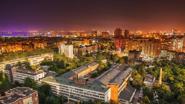 Donetsk di Ukraina