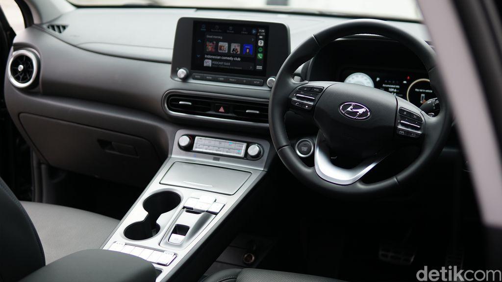 Interior Hyundai Kona Electric Facelift 2021