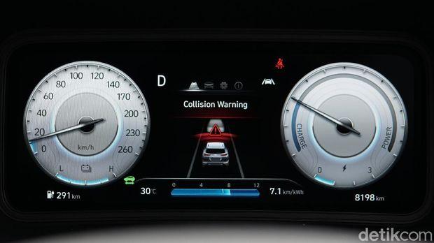 Detail interior Hyundai Kona Electric Facelift 2021