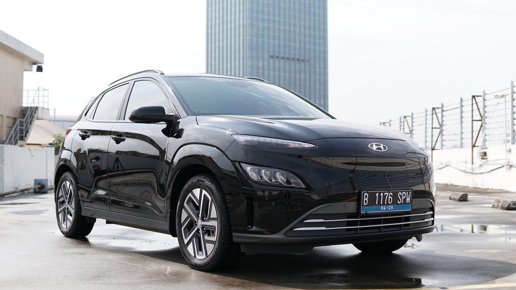 Tampilan luar Hyundai Kona Electric Facelift 2021