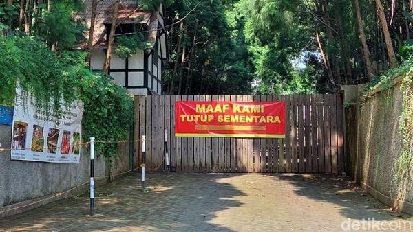 Selama penerapan PPKM Darurat, sejumlah objek wisata di kawasan Lembang pun ditutup sementara.