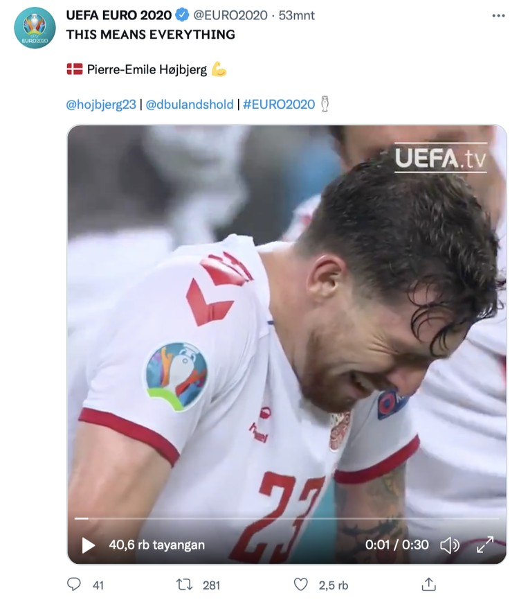 Jersey Putih Bikin Hoki di Euro 2020