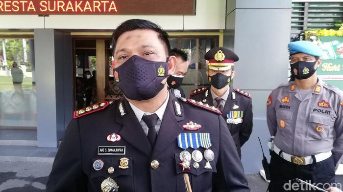 Kapolresta Solo Kombes Ade Safri Simanjuntak, Minggu (4/7/2021).