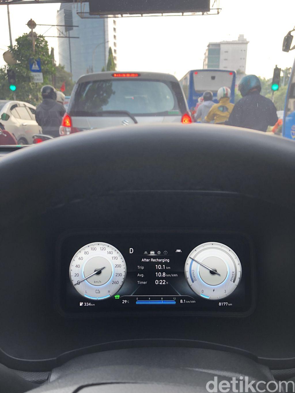 Konsumsi listrik Hyundai Kona Electric Facelift 2021 tembus 10.8 km/kWh