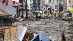 Potret Kerusakan Akibat Longsor di Jepang