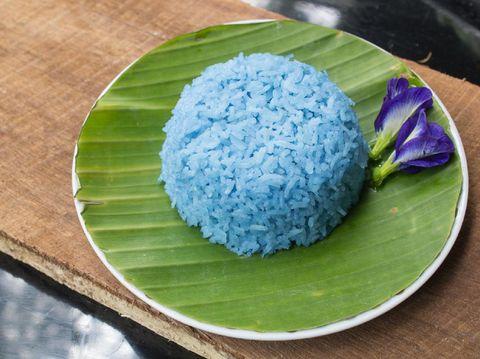 Resep Nasi Biru Bunga Telang