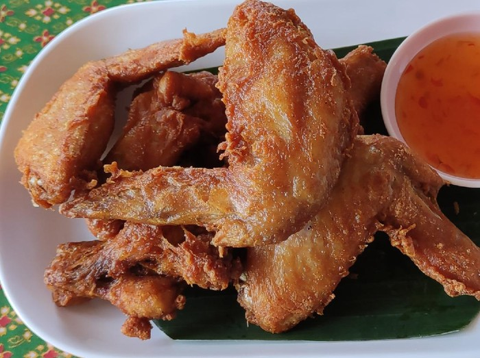 Resep Sayap Ayam Goreng Crispy ala Thailand