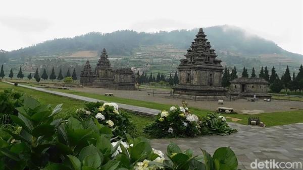 Diketahui, semua objek wisata yang berada di dataran tinggi Dieng ditutup menyusul pemberlakuan PPKM Darurat.