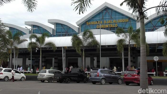 Bandara Djalaludin Gorontalo (Ajis/detikcom).