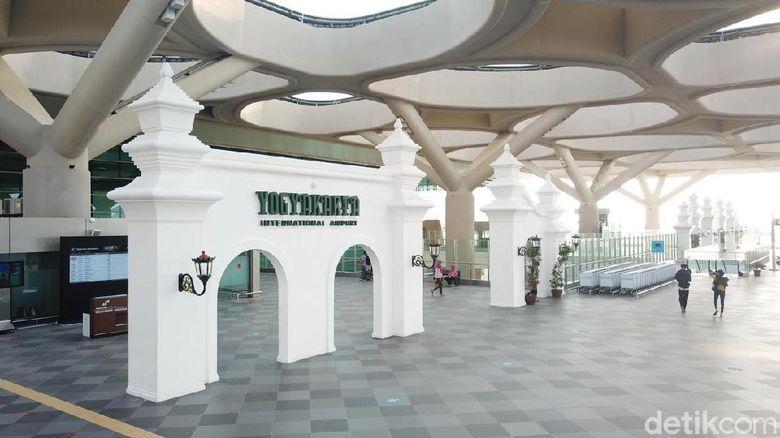 Bandara Internasional Yogyakarta, Senin (5/7/2021)