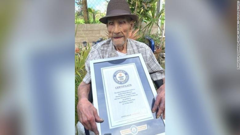 Emilio Marquez, pria tertua di dunia