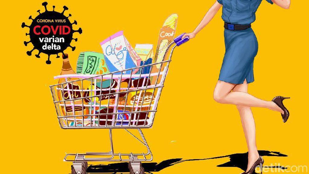 PPKM Level 2 DKI: Supermarket-Pasar Rakyat Boleh 75%, Buka hingga Jam 21.00