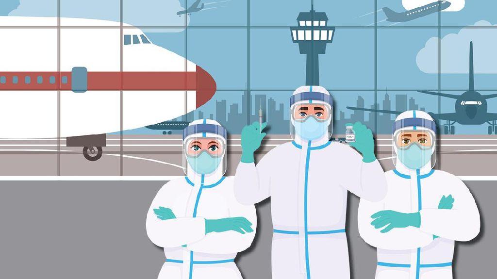 Syarat dan Cara Dapat Vaksin Gratis dari Maskapai