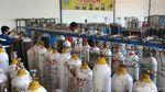 Perusahaan Penyedia Oksigen Kewalahan Hadapi Permintaan