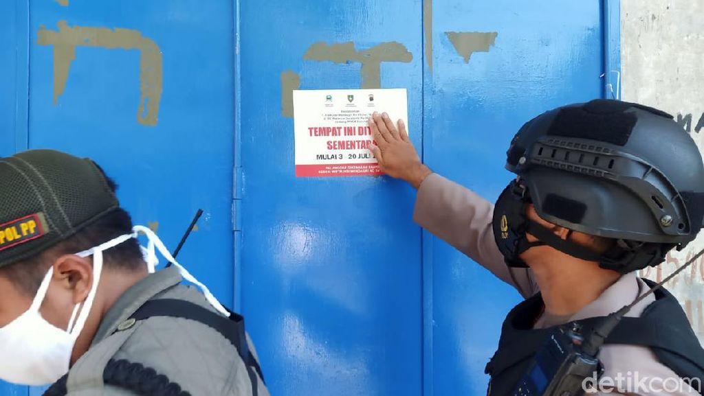 Wawalkot Solo Tutup Sejumlah Toko yang Melanggar PPKM Darurat