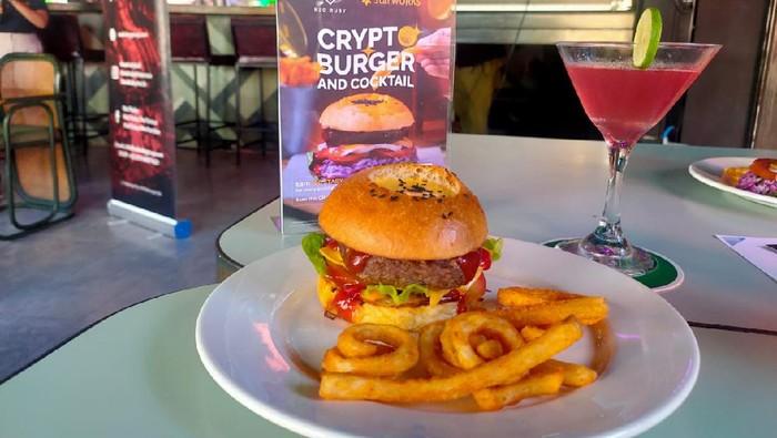 Beli burger dapat kripto