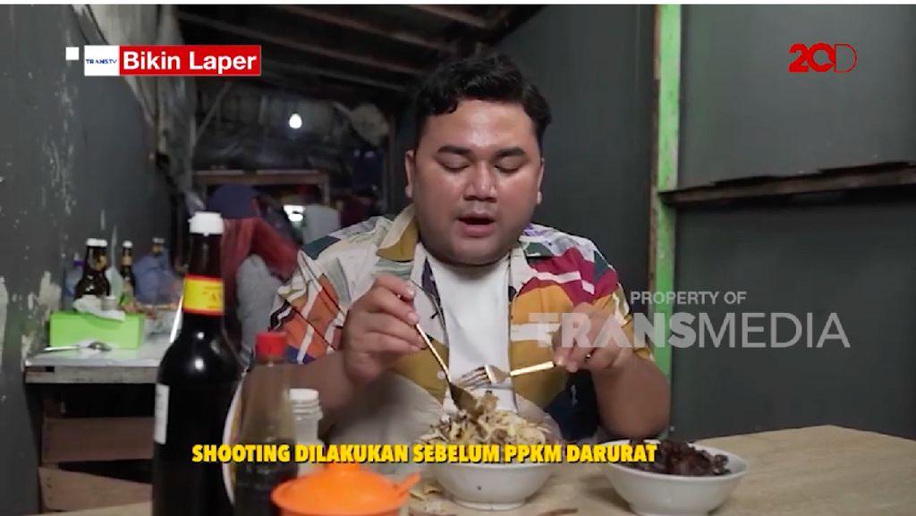 Bikin Laper! Ncess Nabati Cicipi Bubur Ayam Kampung Viral di Rawa Belong