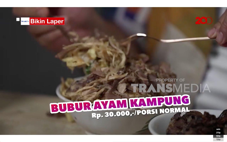 Bikin Laper! Ncess Nabati Makan Bubur Ayam Kampung Viral di Rawa Belong