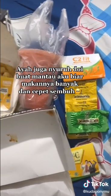 Jalani Isoman, Wanita Ini Bikin Iri Netizen karena Dikirimi Makanan Camer