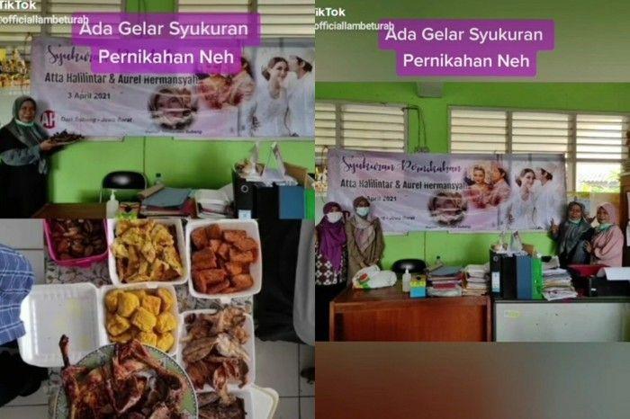 Gabut Banget, Aksi Emak-emak Review Makanan hingga Syukuran Ini Bikin Ngakak