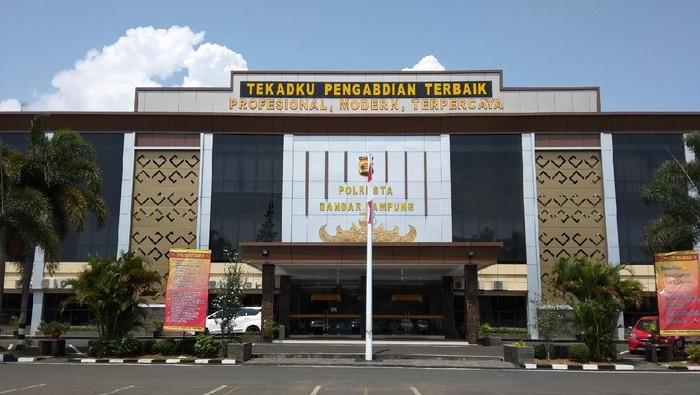 Mapolresta Bandar Lampung (dok Polresta Bandar Lampung)