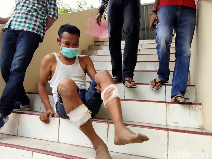 Oknum PNS di Kabupaten Asahan ditangkap polisi karena mencuri sepeda motor. Pelaku ternyata residivis (Perdana Ramadhan/detikcom)